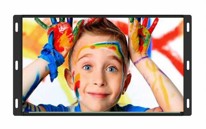 10-65英寸内嵌 壁挂式显示器【工控广告、交互触控均可定制】